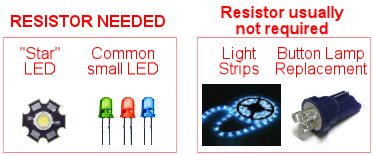 Leds why use resistors with Why do